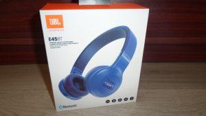 JBL E45 BT bluetoothos fejhallgató kék