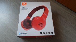 JBL E45 BT bluetoothos fejhallgató piros