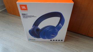 JBL E55 Bluetooth fejhallgató kék